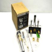 "NEW Luxart PT241-PUBN Perpetua 4"" Centerset 2-Handle Lavatory Faucet Brsh Nickel"