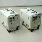 (2) Kashiyama SD90VIIIFU-185-60 Screw Dry Vacuum Pumps for PARTS Rear Outlet