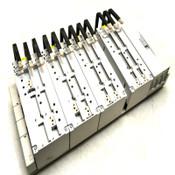 (4) Rittal SV 9342.610 3-Pole 250A Distribution Adapters w/ 5-Slot Adapter Unit