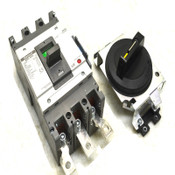 Metasol MCCB ABN 403c LS 350A 3-Pole Molded Case Circuit Breaker w/ Switch