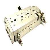 Festo SLT-20-100-A-CC-B Pneumatic Slide Table Bore 20mm/Stroke 100mm + 2 Sensors