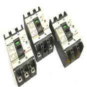(Lot: 3) Metasol LS EBN-53c 15A, EBN-52c 20A & EBN-53 30A ELCB Circuit Breakers