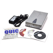 I/O Magic Magicspin BCE 5224UI 52x24x52x Recordable/Rewritable External CD Drive