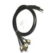 (5) NEW Wilson 999184-001 N-Female to SMA-Male 3' Black Coax Adapter Cables