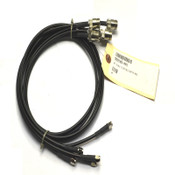 (Lot of 5) NEW Wilson 999185-001 N-Male to SMA-Male 3' Black Coax Adapter Cables