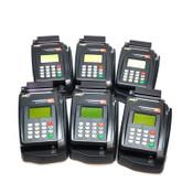 (Lot of 6) Eclipse Quartet P100-002-03 TeleCheck POS Credit Card / Check Reader