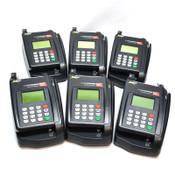 (Lot of 6) Eclipse Quartet P100-002-03 TeleCheck POS Credit Card/Check Terminals