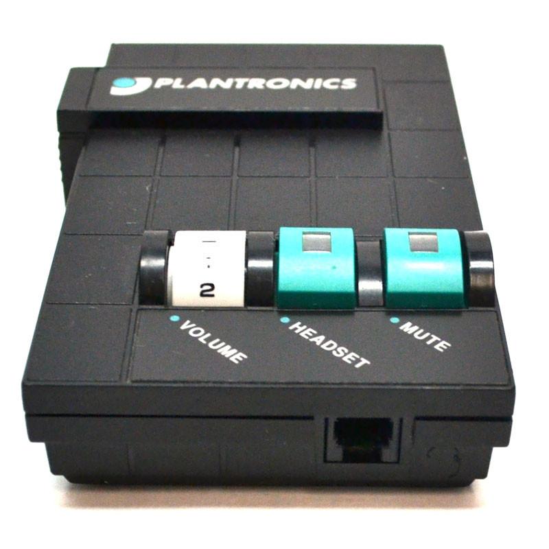 Lot of 4 Plantronics M10 Headset Amplifier