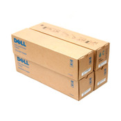 (Lot of 4) NEW Various Dell Toner Cartridges for 3100CN Cyan/Yellow/Magenta