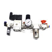 SMC NVHS2500-N02-X116 NAF2000-N01-C NAV2000-N02-5DZB NAR2000-N01 - Used