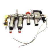 SMC NAFM3000-N03C Mist Separator NAV3000-N03-5DZ Soft Start Up - Used