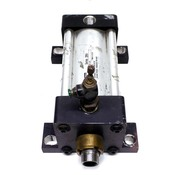 """Parker C2MAU19A Pneumatic 250 PSI Series 2MA Air Cylinder 3.25"""" Bore & Fitting"""