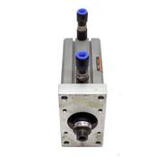 SMC Pneumatic Cylinder CQ2B40-75DC w/ JA20-8-125 Floating Joint Actuator