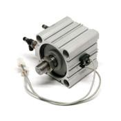 SMC CDQ2B80-40DM-A73 CQ2 Compact Pneumatic Cylinder w/D-A73 Sensors