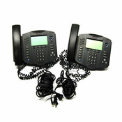 Polycom 2201-11601-001 Soundpoint IP 601 SIP VolP Phones (2)