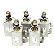 (Lot of 5) SMC Pneumatic Air Cylinder CDQ2A20-30DC w/ JA15-5-080 Floating Joint