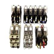 (Lot of 13) Omron G2R-1-SN G2R-1-SND G2R-2-SN G2R-2-SND Relays w/ Socket Bases