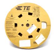 """Tyco Electronics M23053/5-108-9 White 200Ft. 2:1 1/2"""" Heat Shrink Tubing"""
