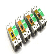 Cutler Hammer Gi-125 15A 480Y/277 Molded Case Circuit Breakers (4)
