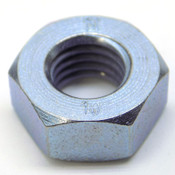 Box of 1750 M10-1.5 Class 10 Zinc Finish Steel Metric Hex Nuts; 17mm Wrench Size