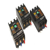 (3) Fuji Electric SA33BUL 3-Pole 30A 550VAC Auto Circuit Breakers BB3ASBUL-030