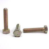 Box of 2200 Nucor M6 1.0 x 30 Grade 10.9 Metric Hex Head Bolt, Zinc, Made in USA
