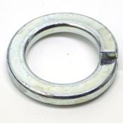 (500) Helical Spring Steel Lock Washers, 25.5mm ID x 40.0mm OD x 4.8mm Thk, Zinc