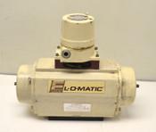 EL-O-Matic ES-20 Pneumatic Actuator Single-Acting + Limit Switch 120-PSIG
