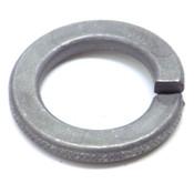 (900) Helical Spring Steel Lock Washers, 21.2mm ID x 33.6mm OD x 3.8mm Thk, Zinc