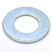 """(500) Steel Flat Washers, Grade 2, SAE 1"""" ID x 2"""" OD x 0.12"""" Thk, Zinc Plated"""
