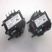 2 Yamamoto Electric Works Manostar MS61ALV120D Differential Pressure Switches