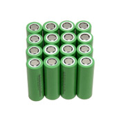 (Lot of 16) NEW LEI INR-18650-CE Li-Ion 18650 Rechargeable Batteries, 2.2Ah 3.6V