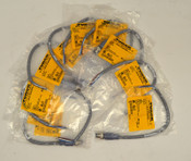 (Lot of 10) NEW Turck RSC 572-0.3M Cable Cordsets 5-Pin Wired-End Straight