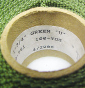 "100 Yard x 1.75"" Green Military Grade Nylon Webbing Mil-Spec 4088 Belt MOLLE USA"