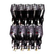 (Lot of 9) Omron G3FD-X03SN Relays 50VDC 5-24VDC 3A w/ PYF08A-E Socket Bases