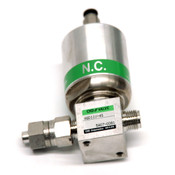 """CKD AGD11V-4S Air Operated Valve w/ 1/4"""" Double Barbed Joints"""