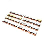 (Lot of 8) Allen-Bradley 140-L455 Series C Compact 45mm 5-Start 3-Space Bus Bars