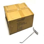 "(75) NEW Vira Insight 20-100-1-26 Slatwall Merchandise 8"" Single Peg Hooks"