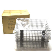 "(5) NEW Vira Insight 20-100-1-28 Slatwall Wire Baskets 22.75"" x 10"" x 4"""