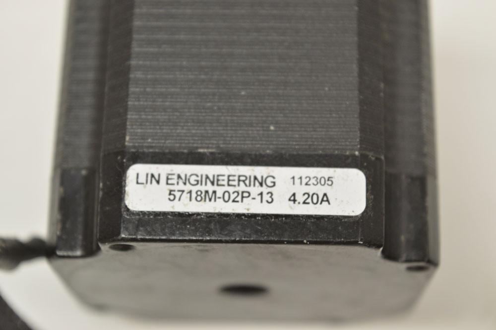 Lin 5718M-02P-13 High Torque Step Stepper Motor 4.20A Frame:NEMA:23 Angle:1.8�