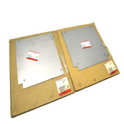 (2) NEW Wiremold CP10-HLS & CP10-TS Wallduct Horizontal Elbow Surface Covers