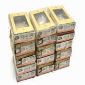 Wiremold Legrand 5741 BUFF Switch and Receptacle Boxes (15)