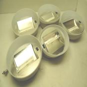 (5) Teknion TU200 Universal Light Portable Magnetic Mount 13W Task Lamps 120V
