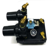 PIAB M200 MPM Vacuum Pump 150 PSI w/ MAC 55B-12-RA 3-Way Solenoid Valve
