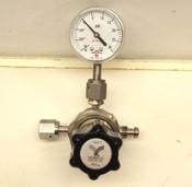 Veriflo 95930W3PFSMMF Pressure Regulator + Span Pressure Guage PSI
