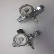 2 Victor Specialty Gas Products PRI60 Compressed Gas Regulators w/ Gauges