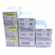 NEW Lot of 8 Elite Image Toner Cartridges (5) 75051, (1) Each of 75118 - 75120