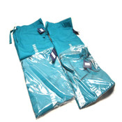 "(4) NEW Cherokee Workwear 4100 Teal TLBW Unisex Fit Large Scrub Pants ""L"""