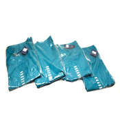 "(4) NEW Cherokee Workwear 4100 TLBW Teal Unisex Fit Small Scrub Pants ""S"""