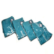 "(4) NEW Cherokee Workwear 4100S ""Short"" Teal Unisex Fit Small S Scrub Pants (S)"